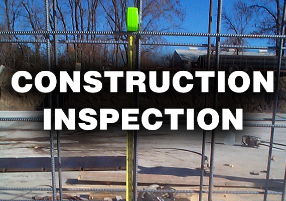 We will provide construction inspection, materials testing and reporting for quality assurance and construction reporting to the permitting agency(s).